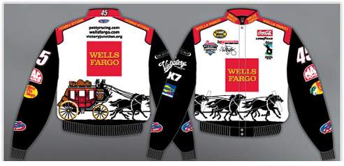 45 Kyle Petty // Wells Fargo