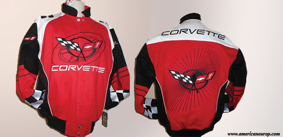 CORVETTE MTC GM RED