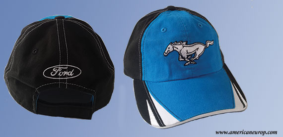 CASQUETTE MUSTANG BLUE