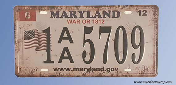 Plaque Maryland 5709