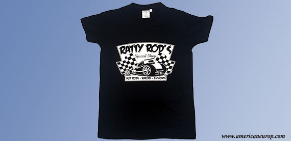 TEE SHIRT RATTY RODS