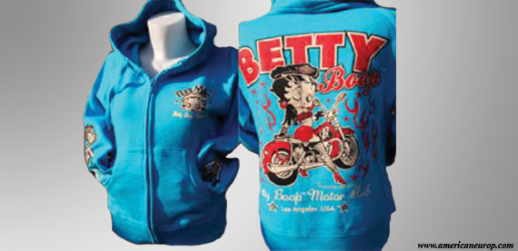 HOODY BETTYB SEXY FLAM TBLUE