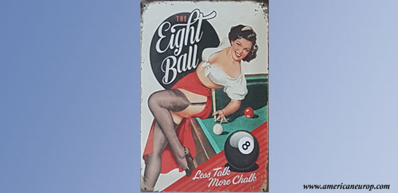 Plaque The Eight Ball