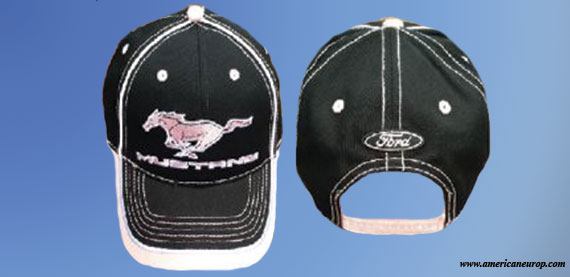 CASQUETTE MUSTANG ROSE