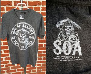 TEE SHIRT SONS OF ANARCHY