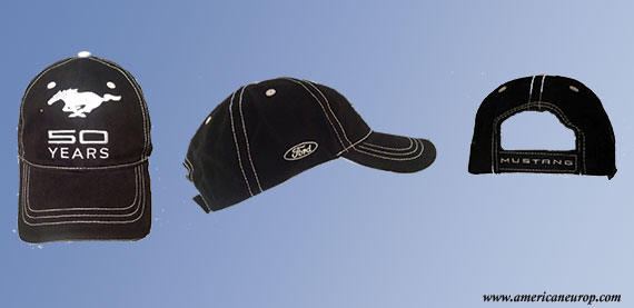 Casquette Mustang 50th anniversary