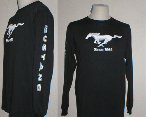 MUSTANG / LONG SLEEVE TEE SHIRT MUSTANG