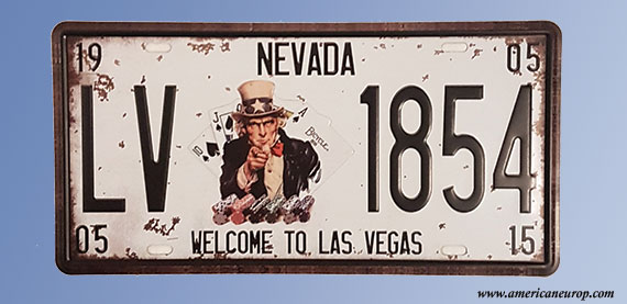 Plaque Nevada