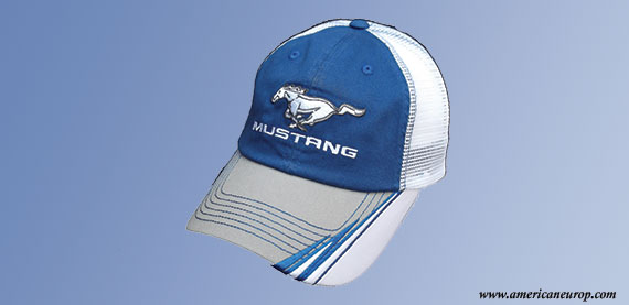 MUSTANG SUMMER WHITE BLUE