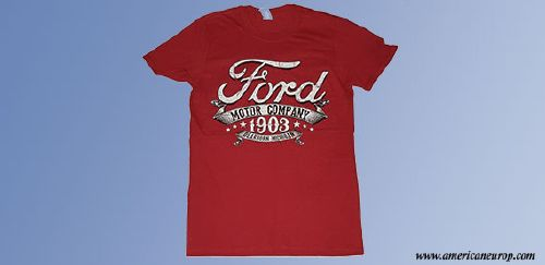 Tee shirt Ford Motor Company Red
