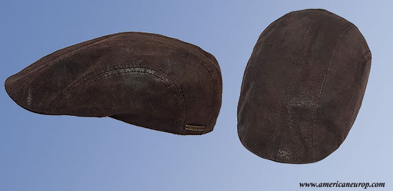 Casquette STETSON Madison Cuir Marron