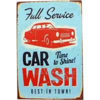 Plaque Full Service Car Wash