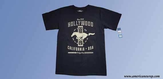 Tee-Shirt Mustang Hollywood