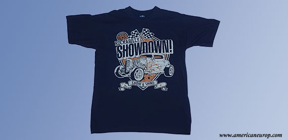 Tee-shirt Showdown Bleu Nuit