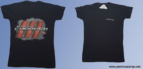 Tshirt Dodge Charger R/T Black