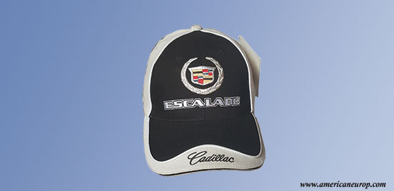 Casquette Cadillac Black and White