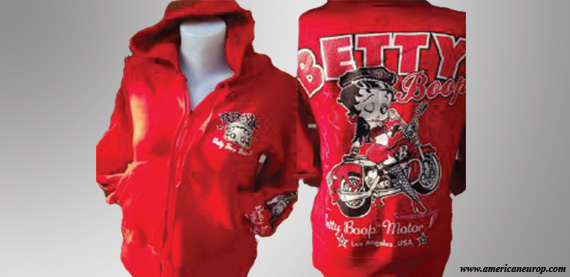 HOODY BETTYB SEXY FLAM RED