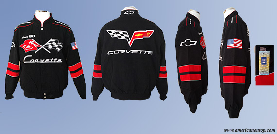 Blouson CORVETTE GENERATION BLACK